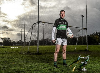Masters is hoping to guide Nemo Rangers to Munster glory at the weekend.