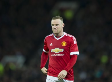 Manchester United's Wayne Rooney has struggled for form of late.