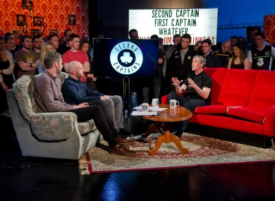 Jim McGuinness on Second Captains last night.