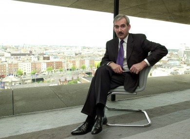 Frank Browne had responsibility for the Central Bank's financial stability from 2003 to 2010.
