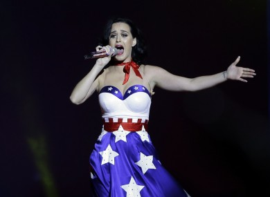 Performer Katy Perry