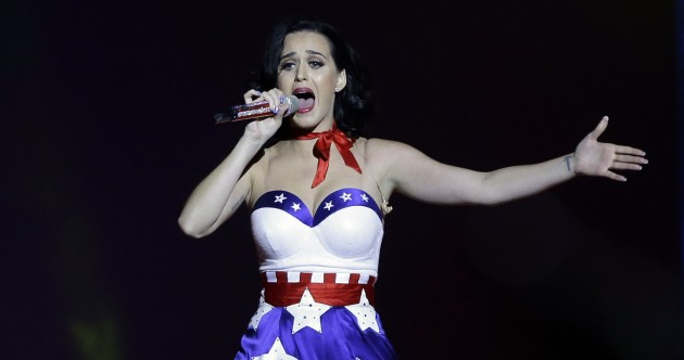 One police force is using Katy Perry tracks to disperse protests