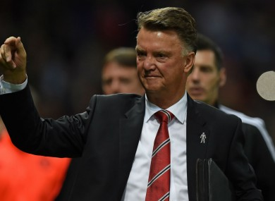 Manchester United coach Louis van Gaal has played down claims that he is not an attacking coach.