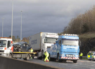 Woman dies of injuries sustained in M50 crash · TheJournal ie