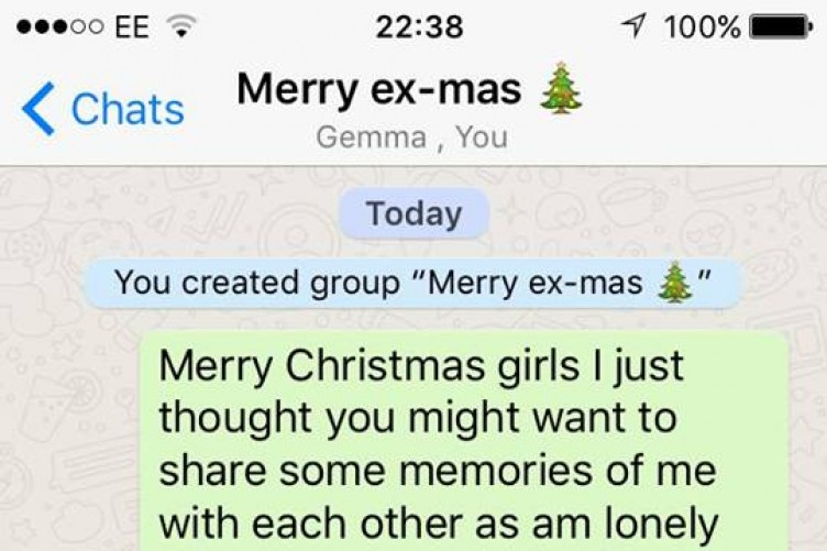 This lad added all his exes to a WhatsApp group to wish them