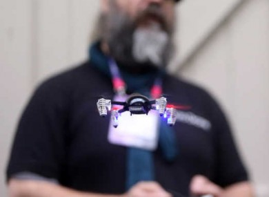 If it's small, but not far away, then it's unlikely you will need to register your drone with the IAA.