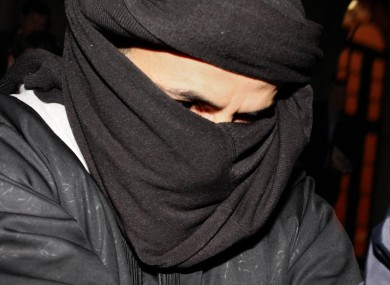 File photo from March 2010 - Ali Charaf Damache arrives at the courthouse in Waterford.