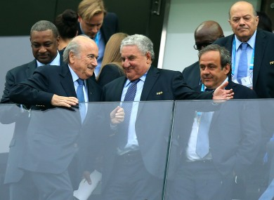 Platini's claims appear to be backed by a new report.