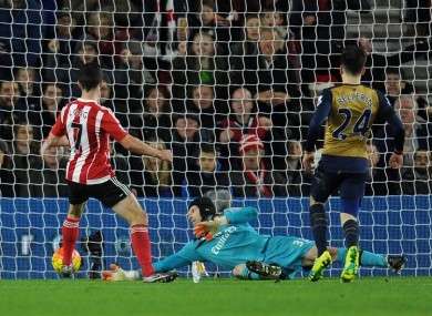 Long scores Southampton's second.
