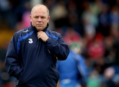 Waterford manager Derek McGrath.