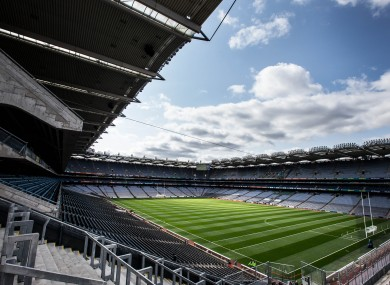 Croke Park: a lot harder to get to every year for some teams if plans if rubberstamped.