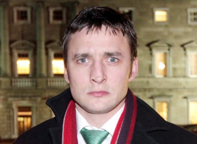 James Heffernan after he resigned the Labour whip in December 2012.