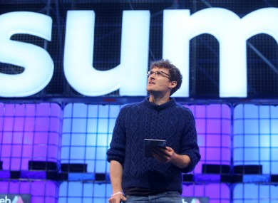 Web Summit CEO Paddy Cosgrave