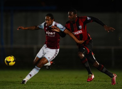 Jaanai Gordon (left) has joined Sligo on a short-term deal.