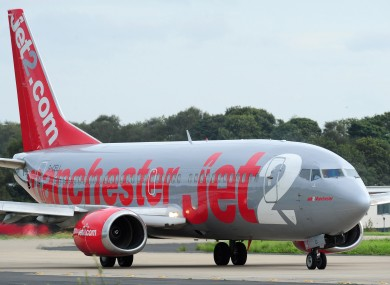 File photo of a Jet2.com plane.
