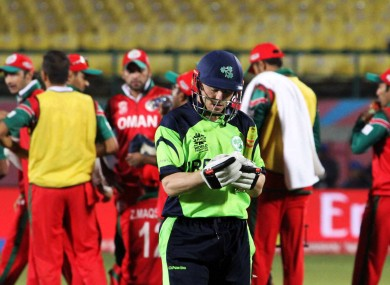 Defeat to Oman was a shock to the system for Ireland.