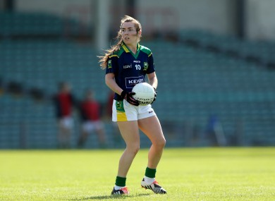 Kerry's Sarah Houlihan.