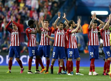 analysis why atletico madrid s defence is the best in europe the42