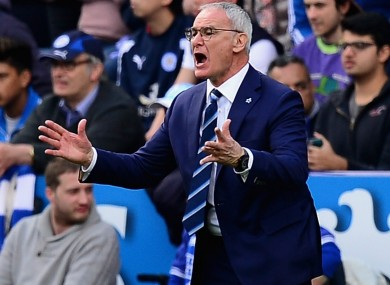 Claudio Ranieri managed Greece before joining Leicester.