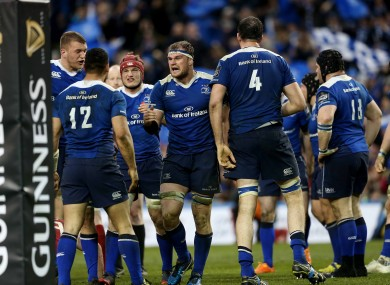 The win over Munster has put Leinster in command in the Pro12.