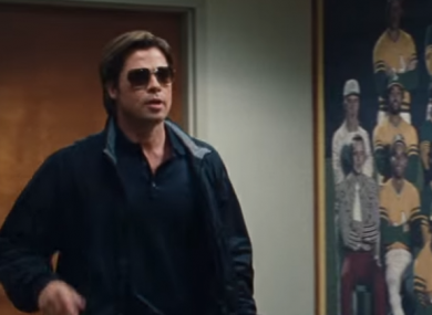 Brad Pitt played Billy Beane in the movie Moneyball.