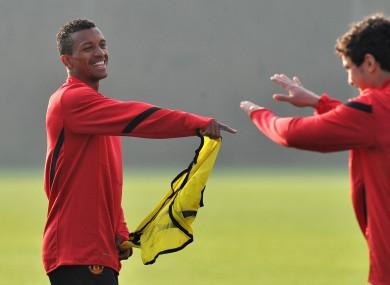 Nani left Man United last year.