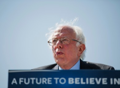 clinton still can t quite shake off bernie sanders in race for
