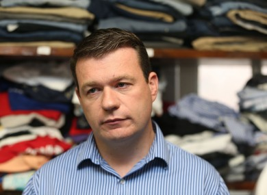 Former Minister for the Environment Alan Kelly