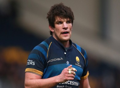 Worcester Warriors lock Donncha O'Callaghan.