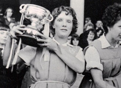 Kay Mills wins another All-Ireland.