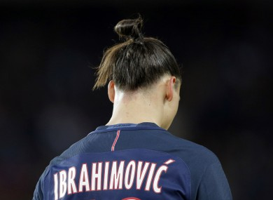 Ibrahimovic has won a league title in 13 of his last 15 seasons at club level.