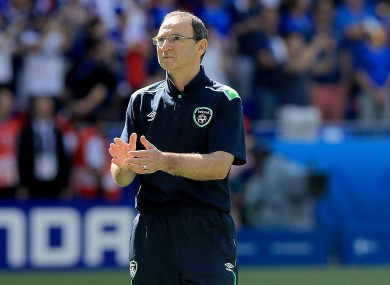 O'Neill was complimentary of his team after the defeat.