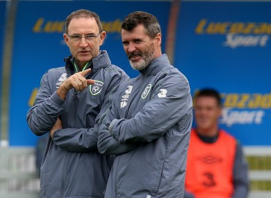 O'Neill and Keane are preparing Ireland for Euro 2016.