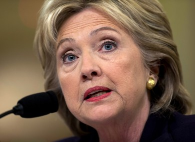 Clinton has been criticized for using a private email server while US Secretary of State.