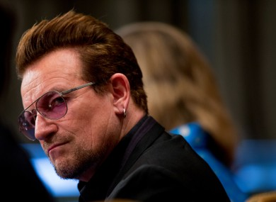 Bono owns a home in Eze on the French Riviera.