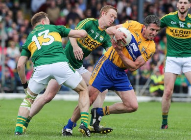Colm Cooper in action for Kerry against Clare in June.