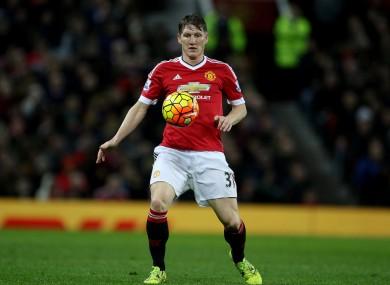 Bastian Schweinsteiger has struggled to impress since joining Man United.