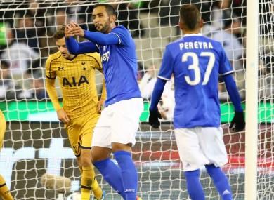 Benatia celebrates his goal.
