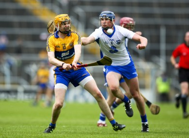 Oisin Donnellan scored Clare's only goal of the night.