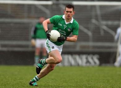 Limerick footballer Pa Ranahan.