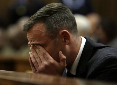 Pistorius at the High Court in South Africa in June.