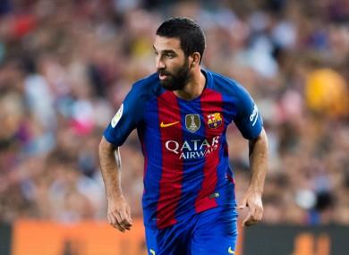 Barcelona winger Arda Turan