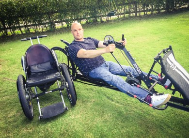 Mark Pollock: 'I got a score on the board. Pitiful at best but a score nonetheless.'