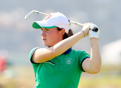 Leona Maguire in action in Rio.