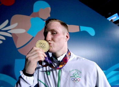 O'Reilly: arrived in Rio as one of Ireland's leading medal hopes in the ring.