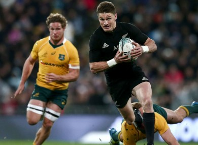 2ddacf7b091 Beauden Barrett re-signs with New Zealand until after 2019 World Cup