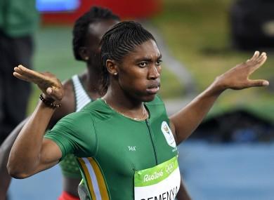 Caster Semenya cruises to women's 800m gold · The42