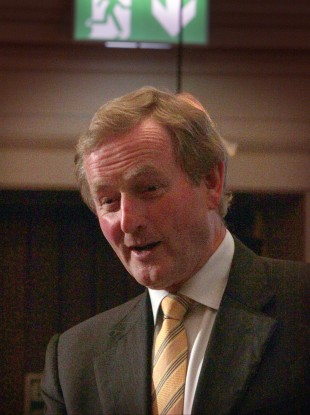 Enda Kenny pictured in July