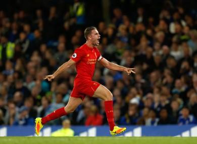 Reds captain Henderson grabbed the winner.