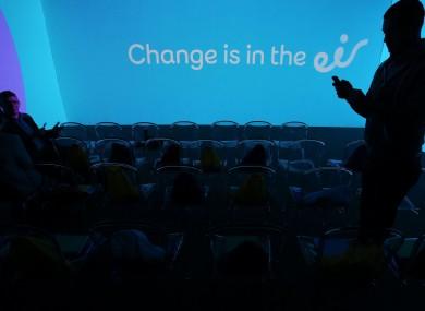 Eir's rebranding launch last year